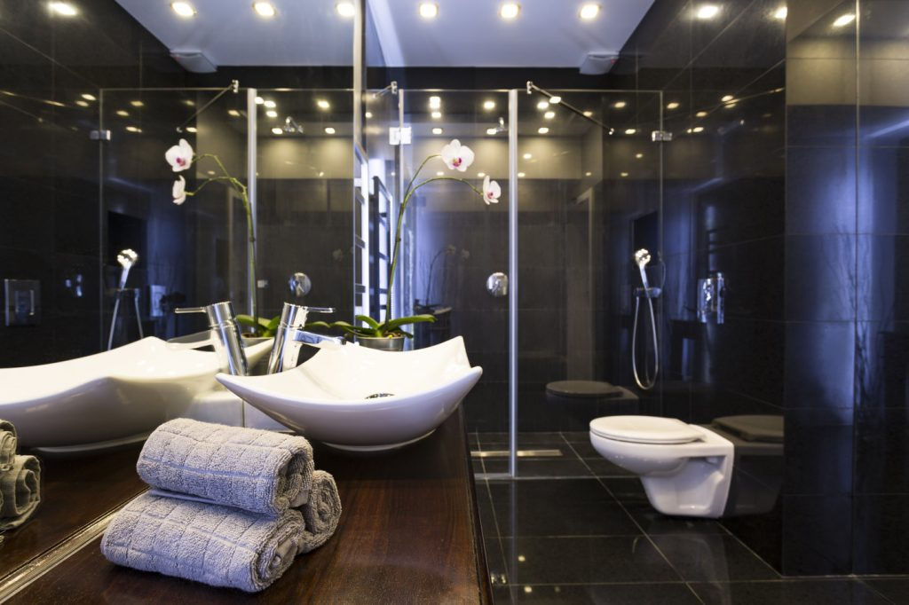lampy led w łazience