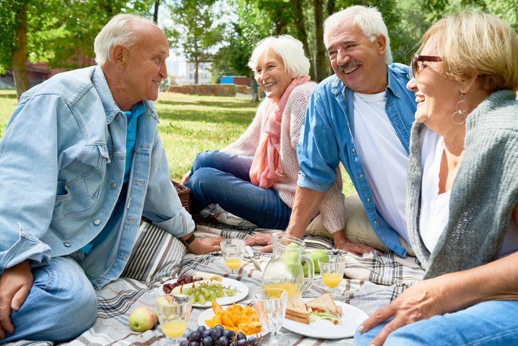 piknik dla seniorów